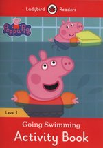 Peppa Pig Going Swimming Activity Book Ladybird Readers Level 1 – książka