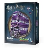 puzzle 3D: Puzzle 3D Wrebbit Harry Potter The Knight Bus 280 – gra