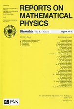 Reports on Mathematical Physics 82/1 Kraj – książka