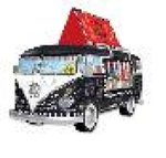 puzzle 3D: Puzzle VW Bus Food Truck 162 – gra