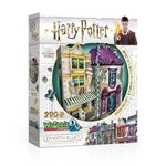 Wrebbit 3D Puzzle Harry Potter Madam Malkin's & Florean Fortecsue's Ice Cream 290 – gra