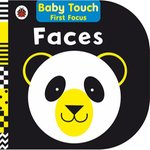 Faces: Baby Touch First Focus – książka