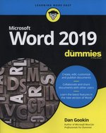 Word 2019 For Dummies – książka