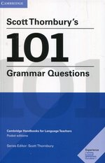 Scott Thornbury's 101 Grammar Questions Pocket Editions – książka
