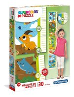 Puzzle miarka wzrostu Cuties Animals 30 – gra