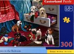puzzle klasyczne: Puzzle 300 Puppies in the Bedroom – gra