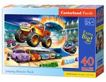 puzzle podłogowe: Puzzle Maxi Jumping Monster Truck 40 – gra