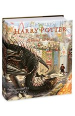 Harry Potter and the Goblet of Fire: Illustrated – książka