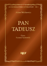 audiobooki: Pan Tadeusz – audiobook