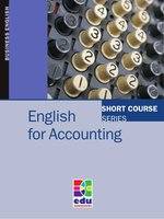 English for Accounting – ebook