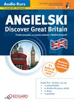 Angielski Discover Great Britain – audiokurs + ebook