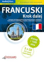 Audio Kurs - Francuski Krok dalej – audio kurs + ebook