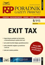 Exit tax  – ebook