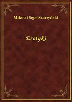 Erotyki – ebook