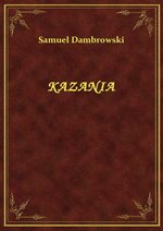 Kazania – ebook