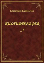 Kulturtraeger I – ebook
