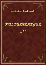 Kulturtraeger II – ebook