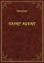 Tajny Agent – ebook