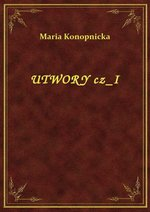 Utwory Cz I – ebook
