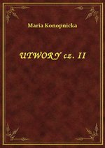Utwory Cz. II – ebook