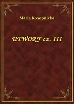 Utwory Cz. III – ebook