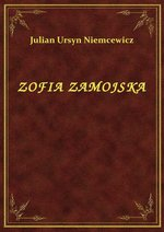 Zofia Zamojska – ebook