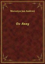 Do Anny – ebook