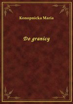 Do granicy – ebook