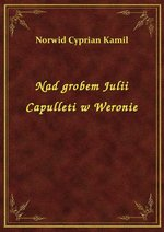 Nad grobem Julii Capulleti w Weronie – ebook