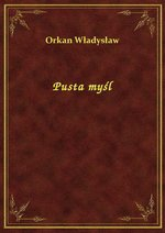 Pusta myśl – ebook