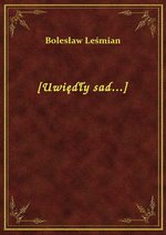 [Uwiędły sad...] – ebook
