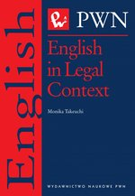 English in Legal context – ebook