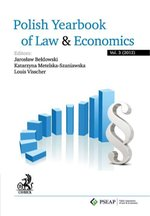Polish Yearbook of Law and Economics. Vol. 3 (2012) – ebook