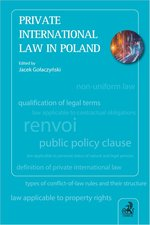 Private International Law in Poland – ebook