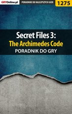 Secret Files 3: The Archimedes Code - poradnik do gry – ebook