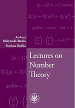 Lectures on Number Theory – ebook