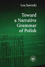Toward a Narrative Grammar of Polish – ebook