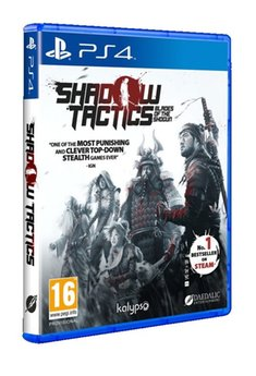 gry i puzzle: Shadow tactics PS4 – gra