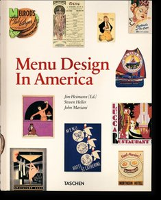 : Menu Design in America – książka