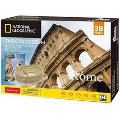 : Puzzle 3D National Geographic The Colosseum – gra