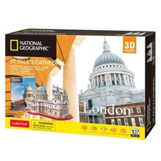 : Puzzle 3D National Geographic St. Paul's Cathedral – gra