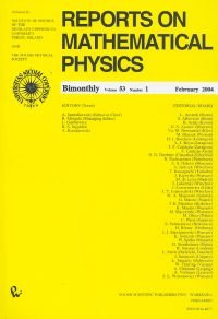 : Reports on Mathematical Physics 53/1 wer.kraj. – książka