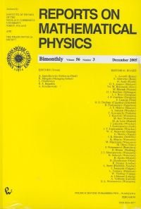 : Reports on Mathematical Physics 56/3 – książka