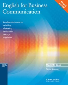 : English for Business Communication Student's book – książka