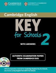 : Cambridge English Key for Schools 2 Self-study Pack (Student's Book with Answers and Audio CD) – książka