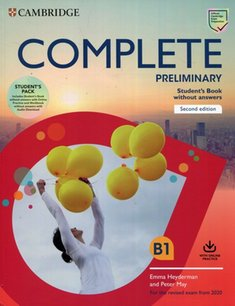 : Complete Preliminary Student's Book Pack (SB wo Answers w Online Practice and WB wo Answers w Audio Download) – książka
