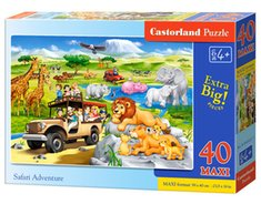 : Puzzle maxi Safari Adventure 40 – gra