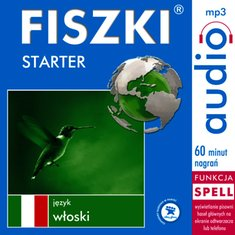 audiobooki: FISZKI audio - j. włoski - Starter – audiobook
