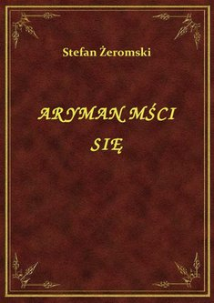 ebooki: Aryman Mści Się – ebook