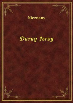 ebooki: Duruy Jerzy – ebook